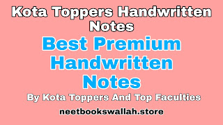 Allen Kota Toppers Physics Handwritten notes pdf free download