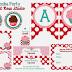 Cupcakes Party Free Printable Kit.
