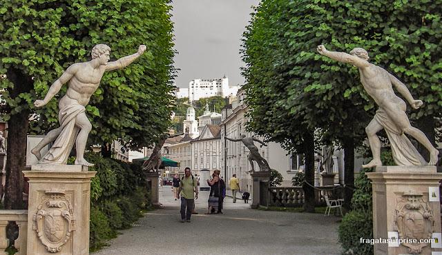Jardins do Palácio Mirabell, Salzburgo, Áustria
