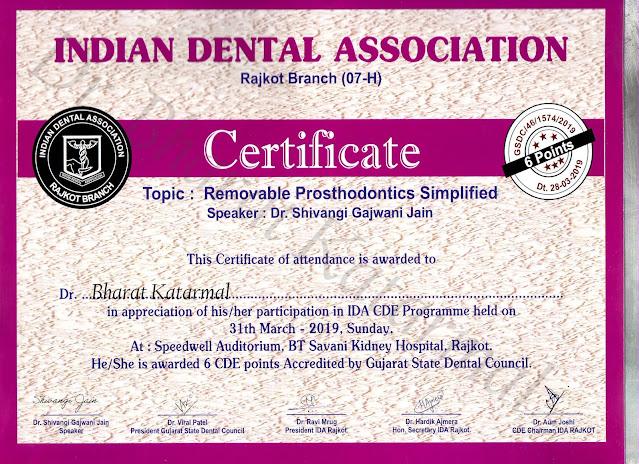 Removable Proshtodontics Simplified by Dr Shivangi Gajwani Jain