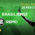 TV Brasil transmite Brasiliense x Remo  pela final da Copa Verde neste domingo