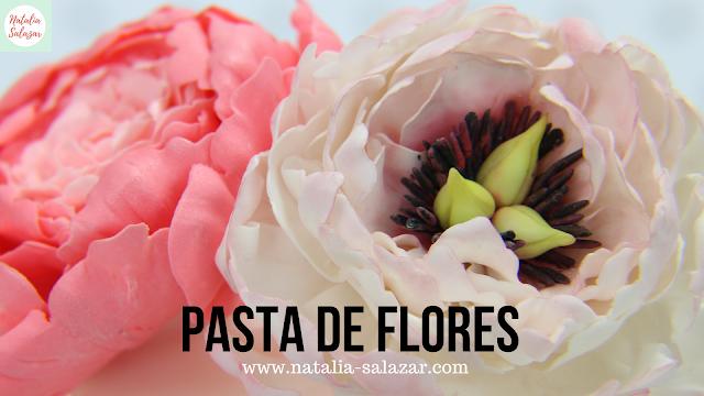 Receta pasta para flores azucar