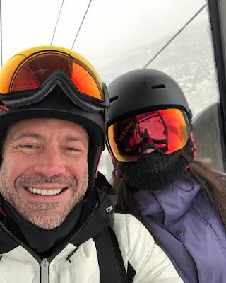 Malvino e Kyra curtem férias em estação de esqui nos EUA — Foto: Reprodução/Instgram
