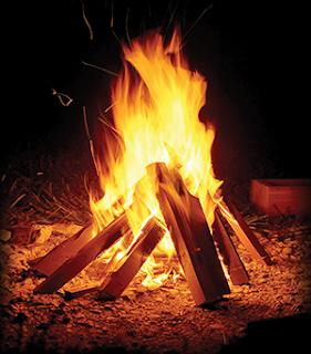 un feu sans Mystical Fire
