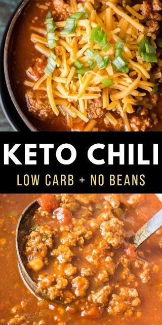 Easy Keto Chili (low carb + no bean chili)