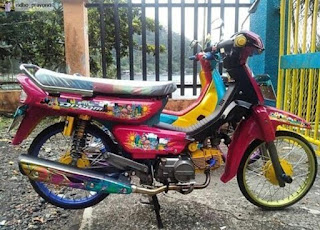 modifikasi honda grand klasik
