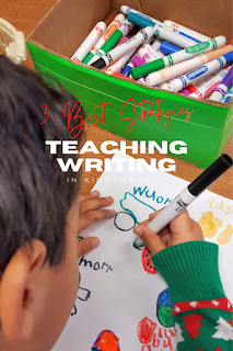 3 Best Things on How to Teach Writing in Kindergarten Teach Magically