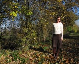 Fabric godmother pencil skirt