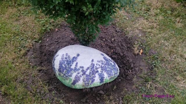 Decoupage w kamieniu