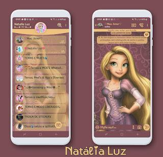 Girls Theme For YOWhatsApp & Fouad WhatsApp By Leidiane