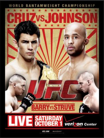 UFC Live 6 Cruz vs Johnson Tonight | MMA Fighting Events