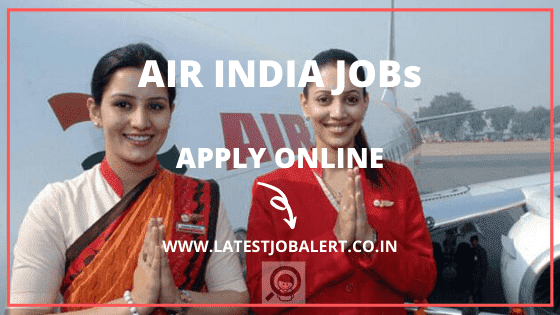 Air India Various post Online Form 2020|Apply online