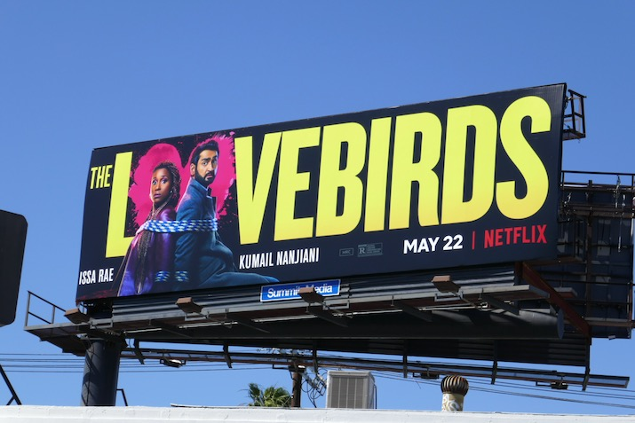 Lovebirds Netflix movie billboard