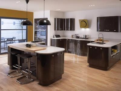 Contoh Gambar Kitchen Set Model Minimalis