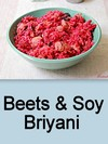 Beets & Soy Briyani