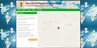Aplikasi GIS (Sistem Informasi Geografis) PHP Codeigniter