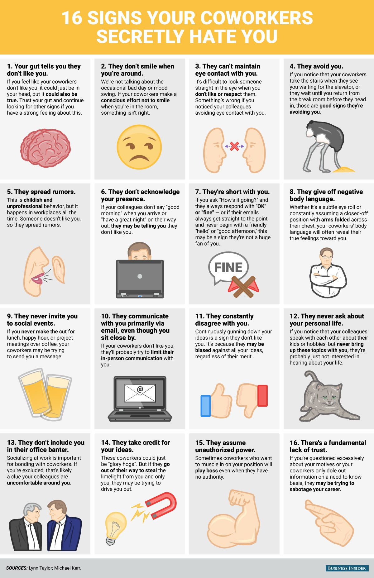 This Is Why Your Coworkers Hate You [Infographic]