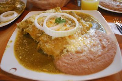 Chicken Gravy Enchiladas