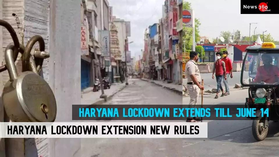 Haryana Lockdown Extends till June 14, CM Manohar Lal Khattar Final Announcement , See Haryana lockdown New Rules