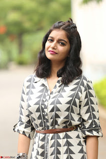 Swathi Reddy Looks super cute at London Babulu theatrical trailer launch ~  Exclusive 018.JPG