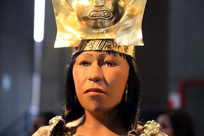 rostro de la señora de Cao, momia Cao