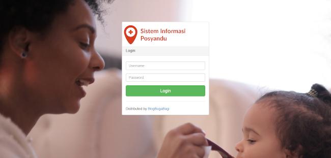Source Code Sistem Informasi Posyandu Balita dan Ibu Hamil dengan CI