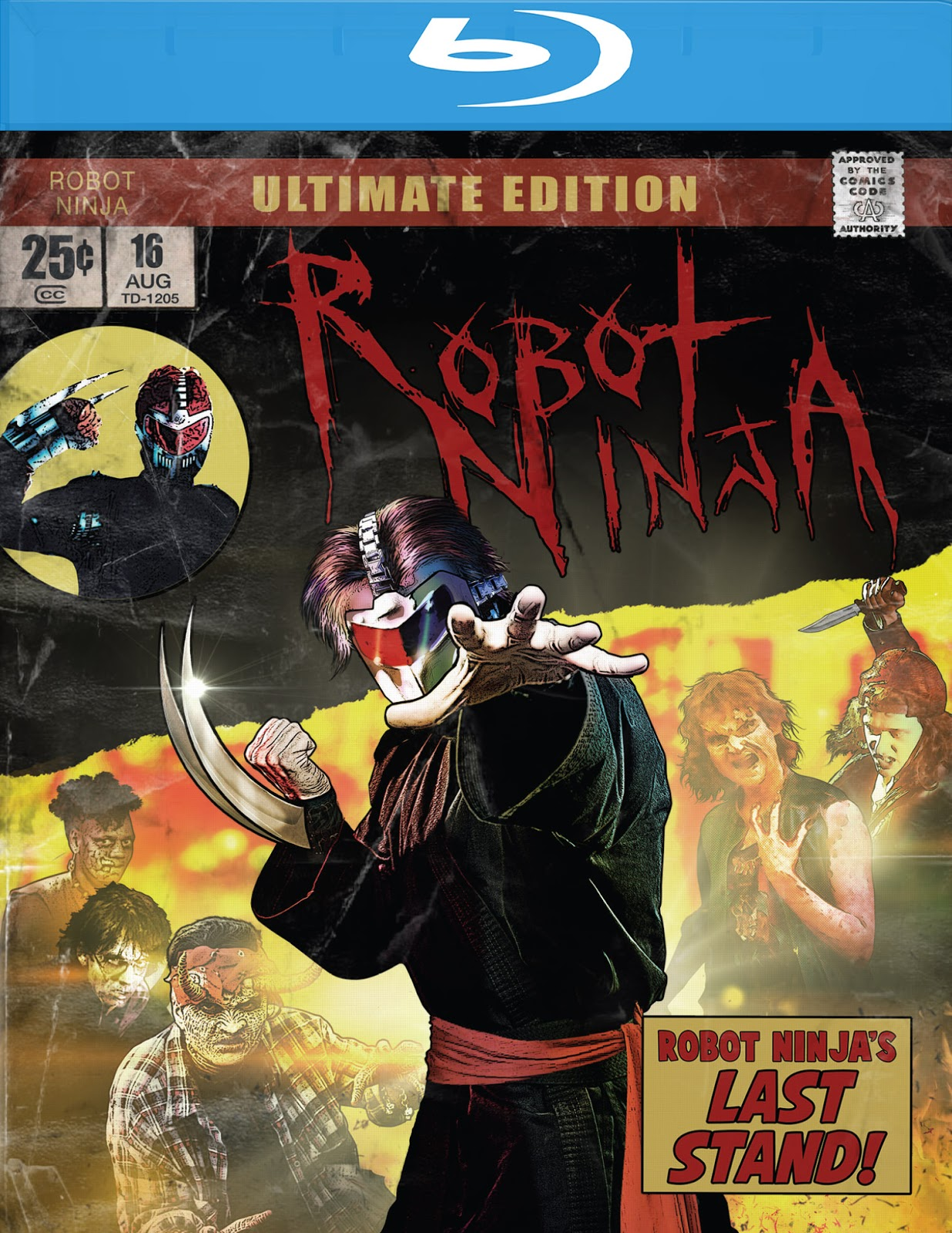 THE B-MOVIE NEWS VAULT: ROBOT NINJA Now Available on Ultimate