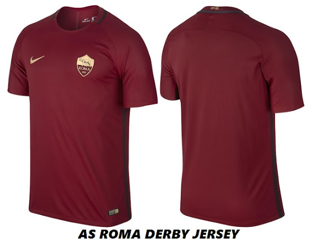 AS Roma 2016-17 Derby Kit