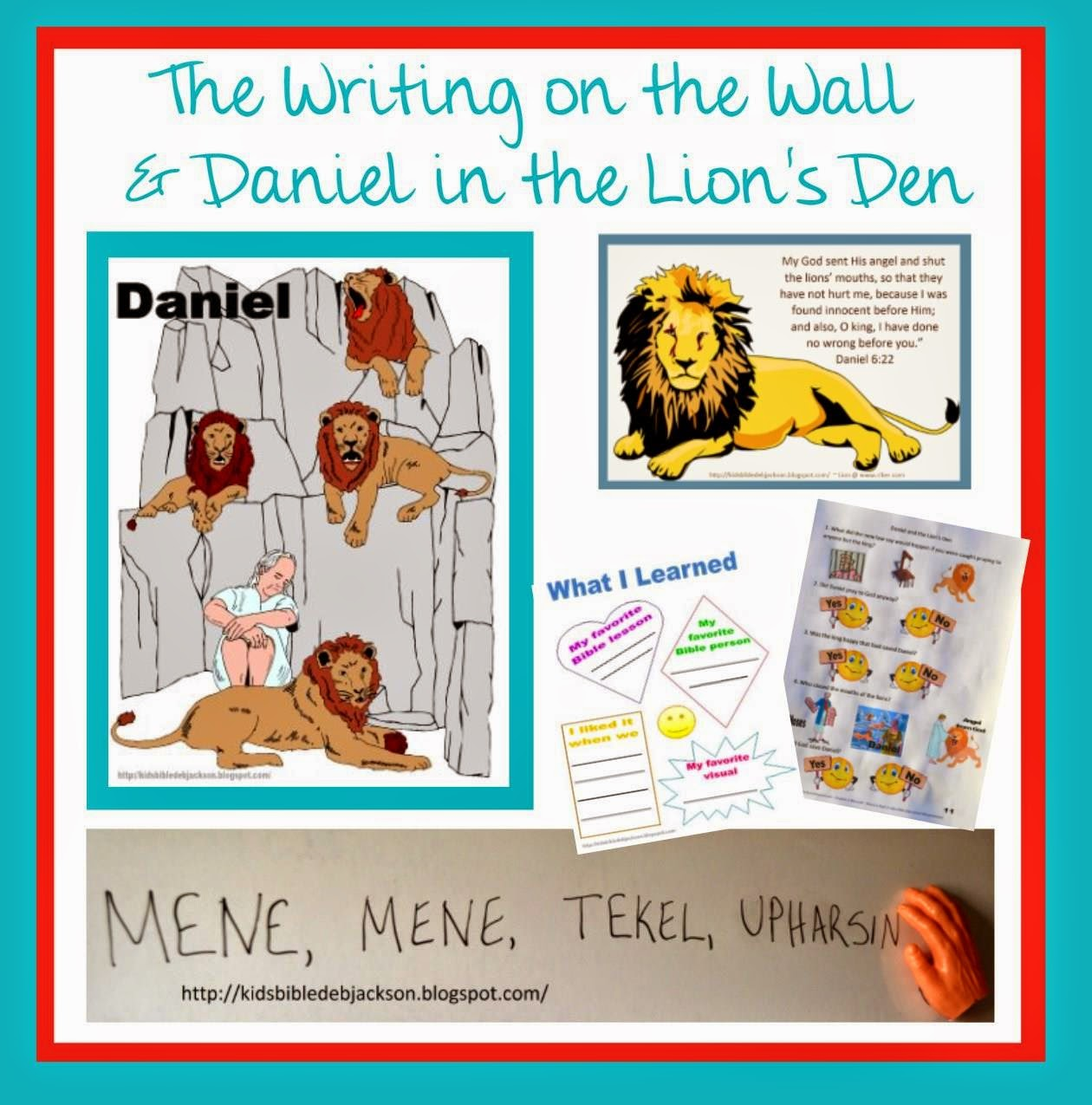 Bible Fun For Kids Daniel The Writing On The Wall Amp The Lion S Den