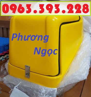Thùng giao hàng loại nhỏ, thùng chở linh kiện, thùng giao đồ ăn sau xe máy TGHN1