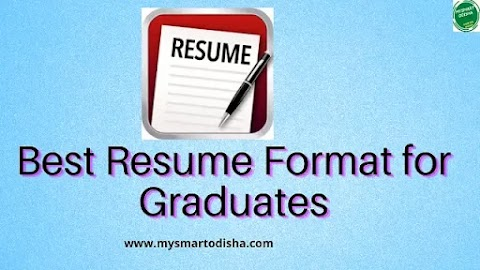 Odia Best Resume Format for Graduates Odisha India || Graduate Resume Formats