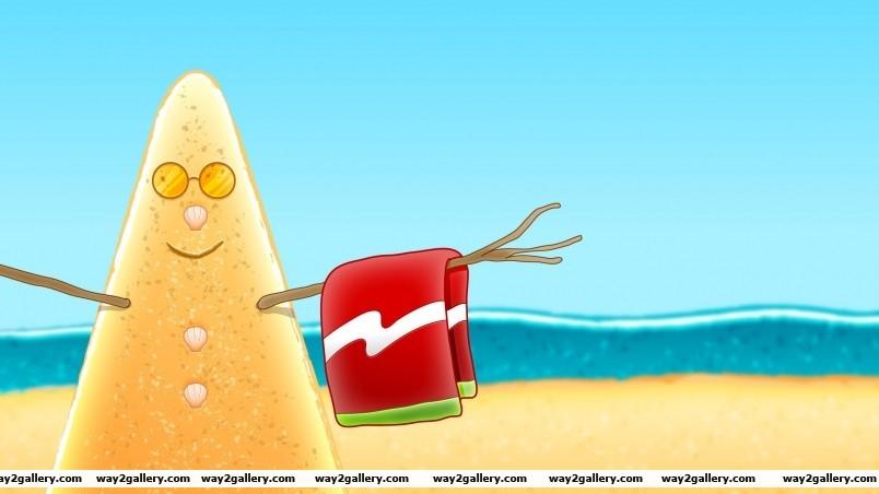 Summer sandman wallpaper