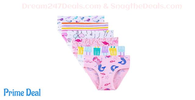 50% OFF  Girls Underwear--6 or 9 pack
