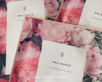 Halloasis Brightening Hill Sheet Mask - Review