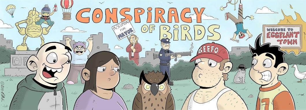 Conspiracy of Birds by Trevor McKee