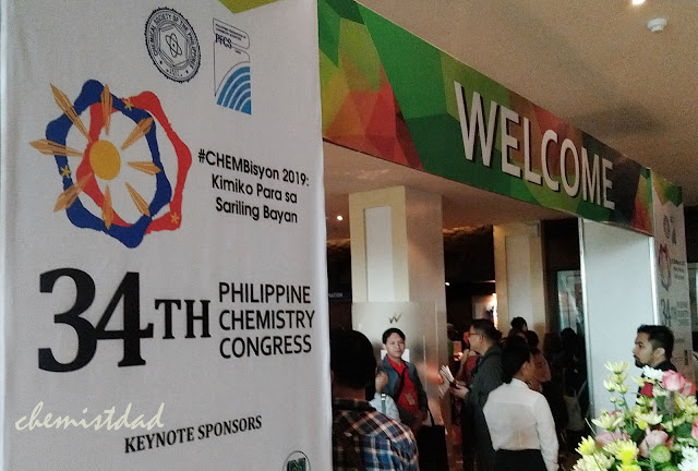34th Philippine Chemistry Congress, Philippine Chemistry Congress 2019, #CHEMbisyon, #34PCCMillenialVers, Chemistry Congress Cebu