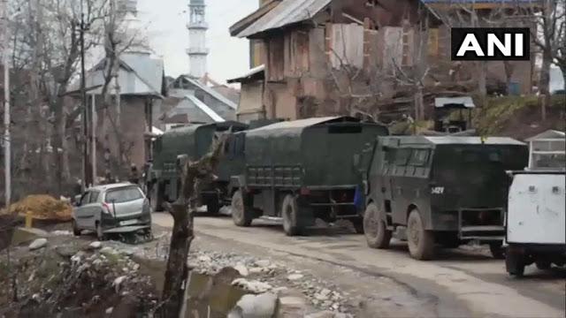 Terrorists encounter 1 terrorist in Shopian, Jammu and Kashmir