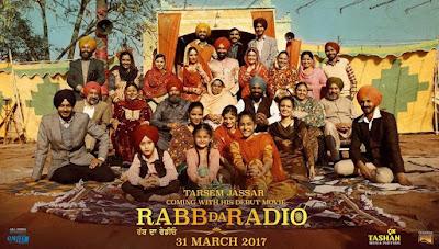 Rabb Da Radio 2017 Punjabi WEB HDRip 480p 350Mb x264