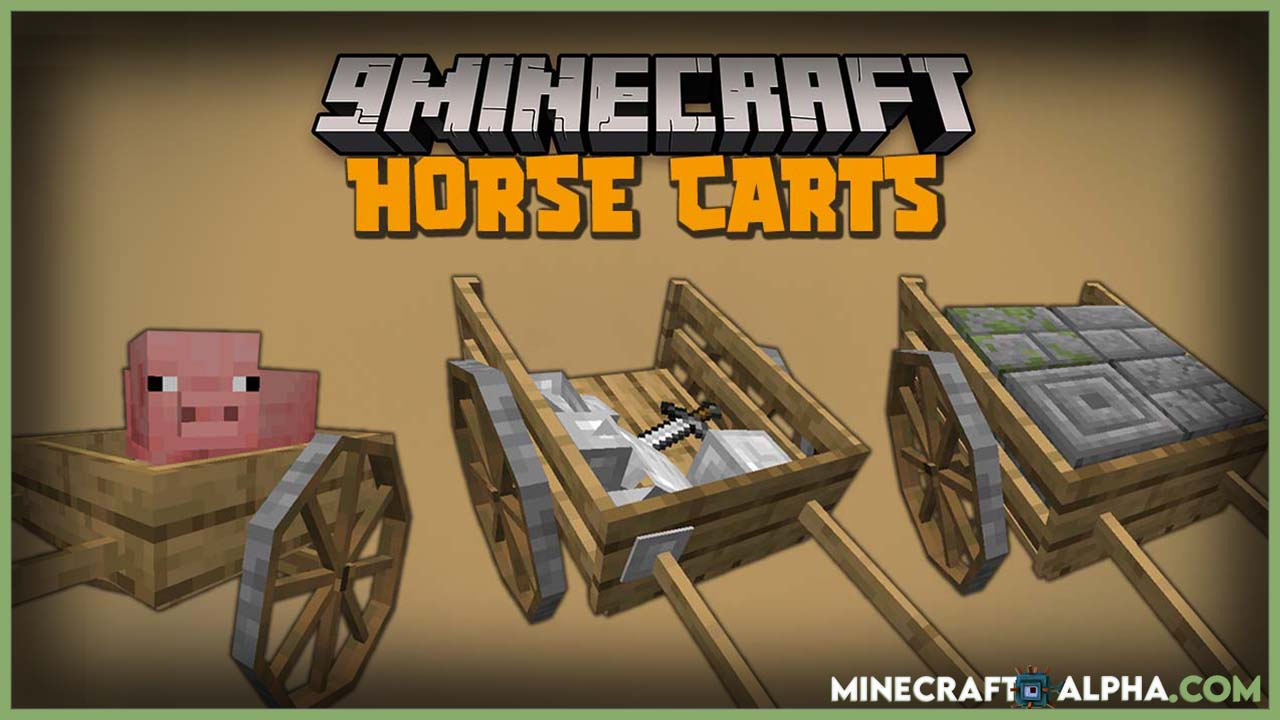 Minecraft AstikorCarts Mod 1.16.5 (Vehicles, Transportation)