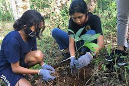 Kodim Ambon dan Komunitas Lebe Bae Hijaukan Siwang Paradise