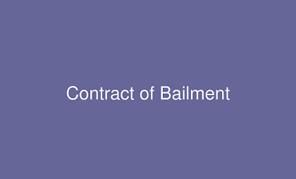 features of contract