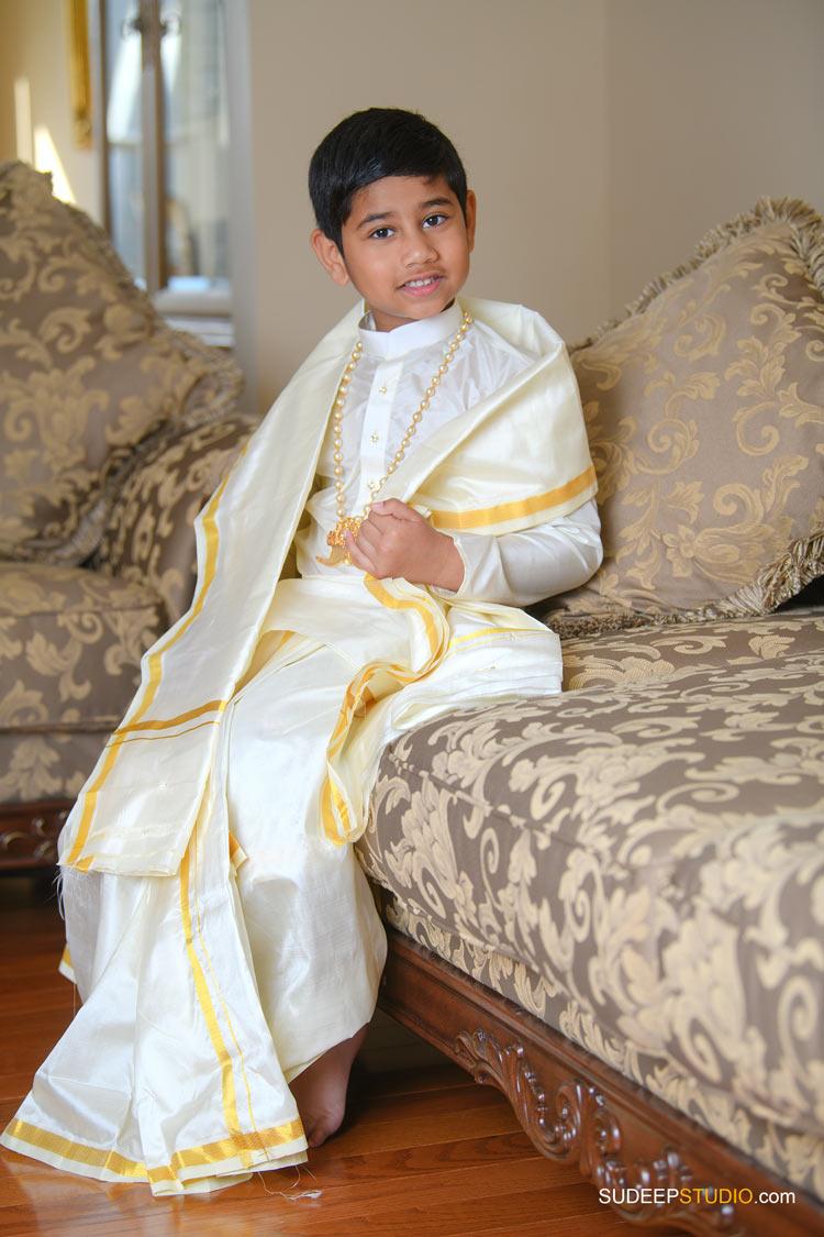 Dhoti Ceremony Photography by Ann Arbor Novi Indian Hindu Event Photographer