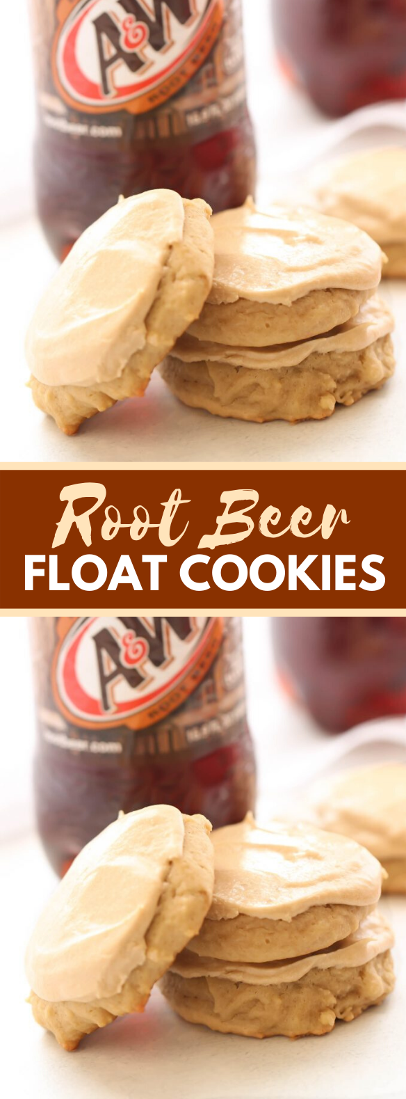 ROOT BEER FLOAT COOKIES #desserts #sweets