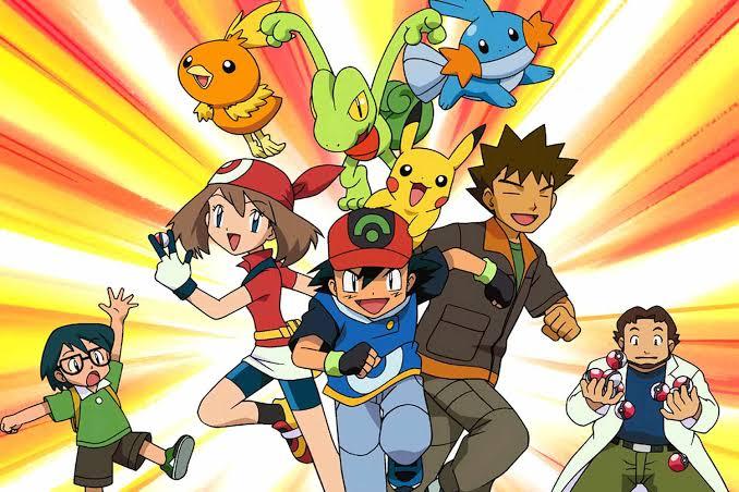 Pokemon season 03 Johto Journeys images in 720p