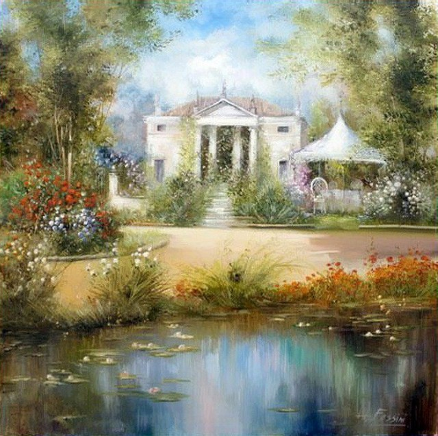 Современные художники Италии. Lovilla Chantal 11