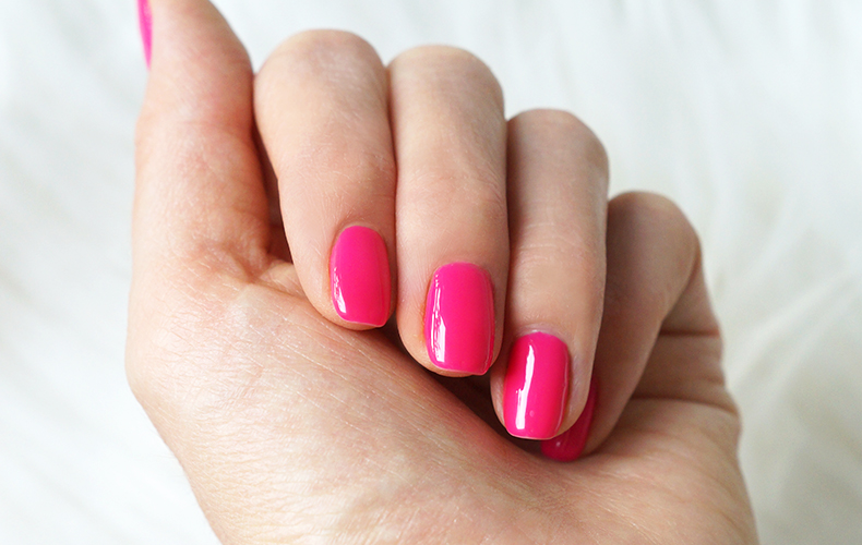 neonail lakier keep pink