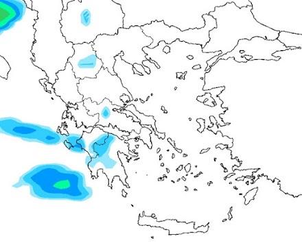 Meteo24News.gr: Τοπικές βροχές στη χώρα για αύριο Δευτέρα - Παγετός κατά τόπους στα ηπειρωτικά