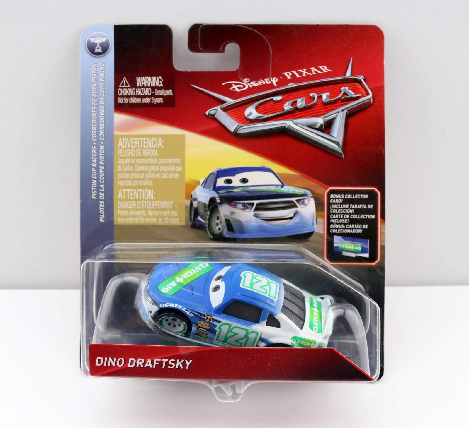 cars 3 dino draftsky diecast review