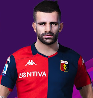 PES 2020 Faces Ivan Radovanović by Rachmad ABs