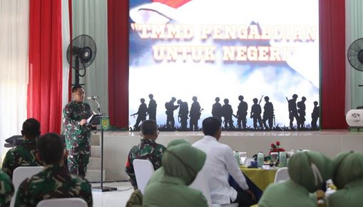 Pangdam III/Siliwangi Mayjen TNI Nugroho Budi Wiryanto;  Menutup TMMD ke-108 tahun 2020